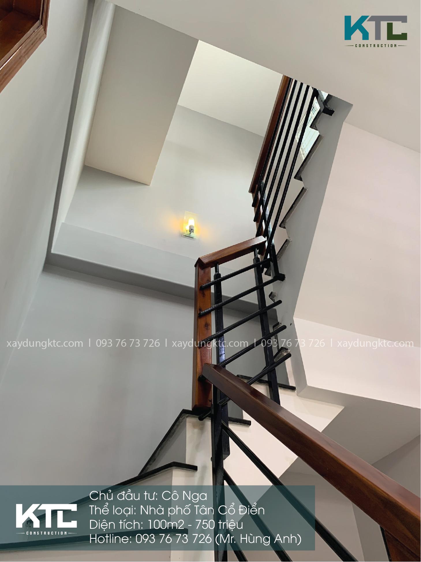cầu thang lên tầng
