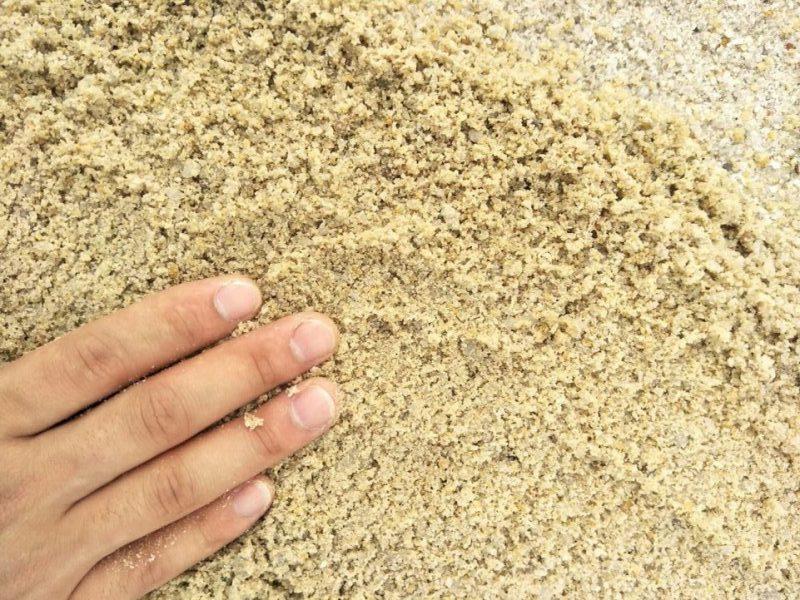 hướng dẫn chọn cát chọn vật liệu xây dựng phần thô