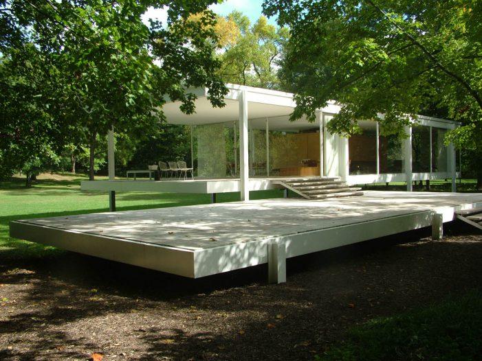 Farnsworth House - Công trình kiến trúc nổi tiếng mang đậm phong cách thiết kế tối giản