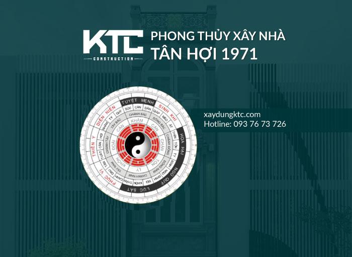 Phong thủy hướng nhà tuổi Tân Hợi 1971
