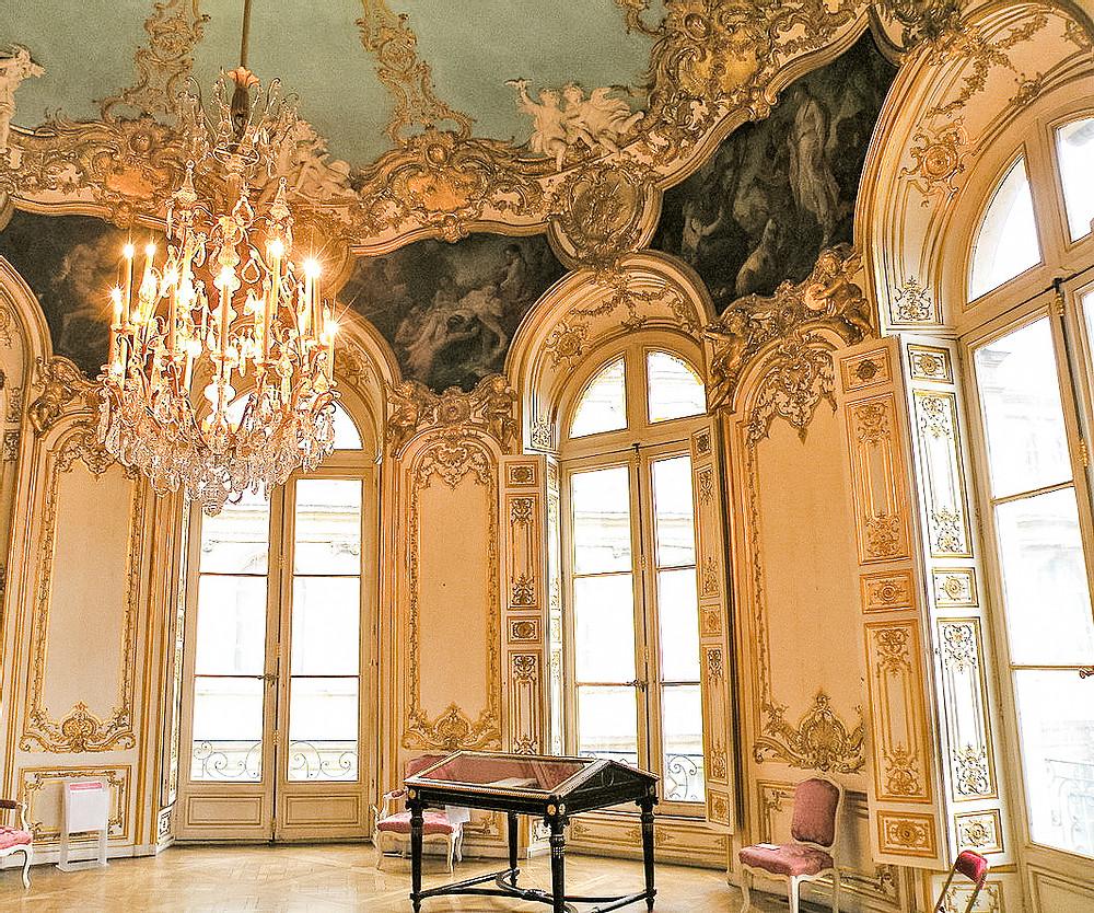 Phong cách Rococo là một thứ gì đó xa hoa nhưng không trang trọng, nổi bật nhưng không khoa trương