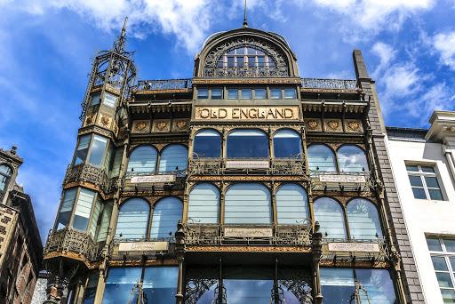 phong cách kiến trúc Art Nouveau cùng nét đẹp từ thiên nhiên