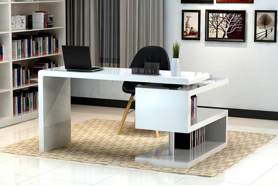 Phong thủy bàn làm việc, cần quan tâm màu sắc của bàn làm việc