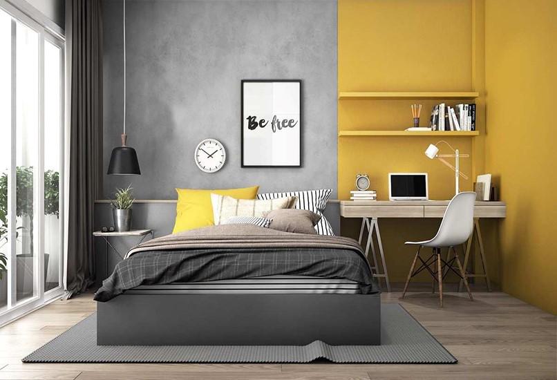 Theo phong thủy phòng ngủ, nên chọn màu phù hợp với phong thuỷ