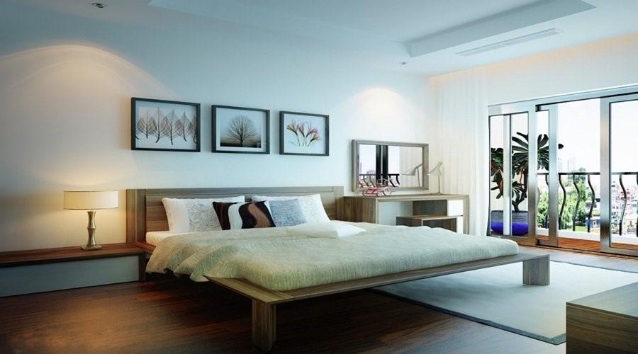 Không nên chọn phòng ngủ hình tròn, bạn sẽ dễ bị chóng mặt, giấc ngủ không sâu, lâu dài sẽ ảnh hưởng đến sức khoẻ.