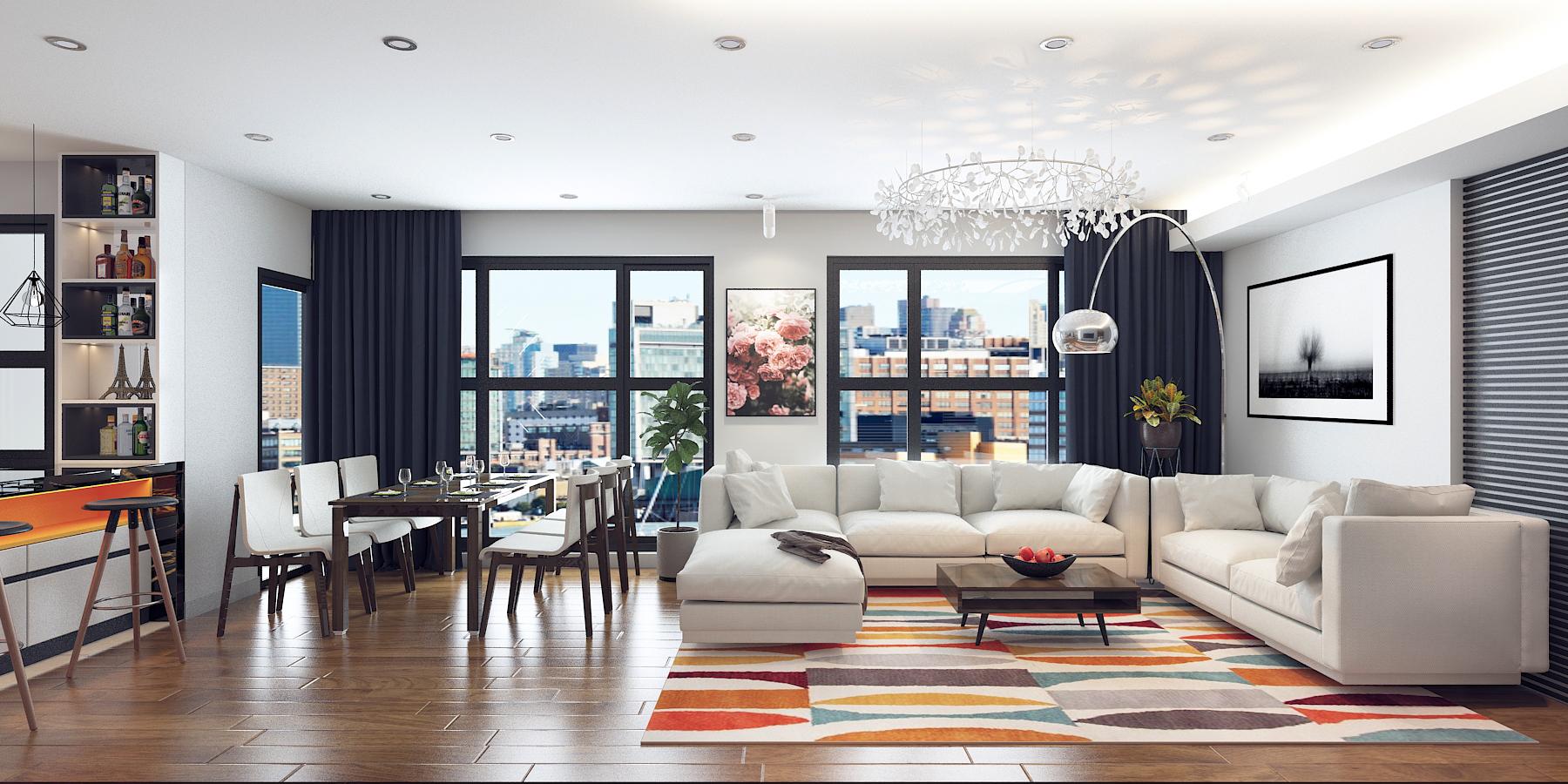 Tận dụng ánh sáng trong thiết kế nội thất và nhà ở