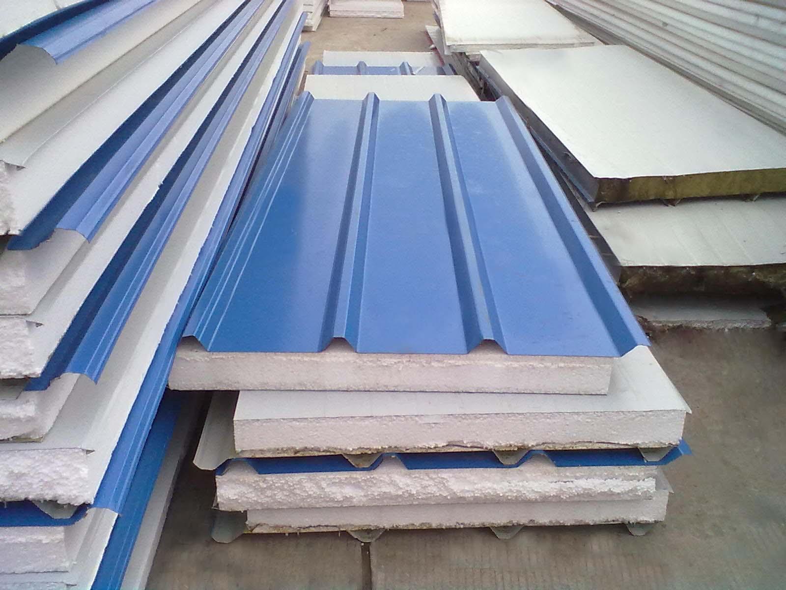 vật liệu làm mái nhà bằng tôn xốp