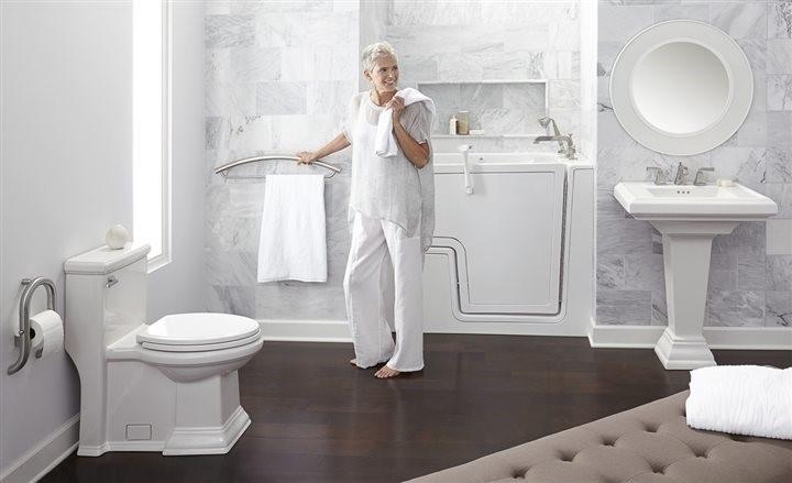 Thiết kế nội thất nhà vệ sinh cho người già