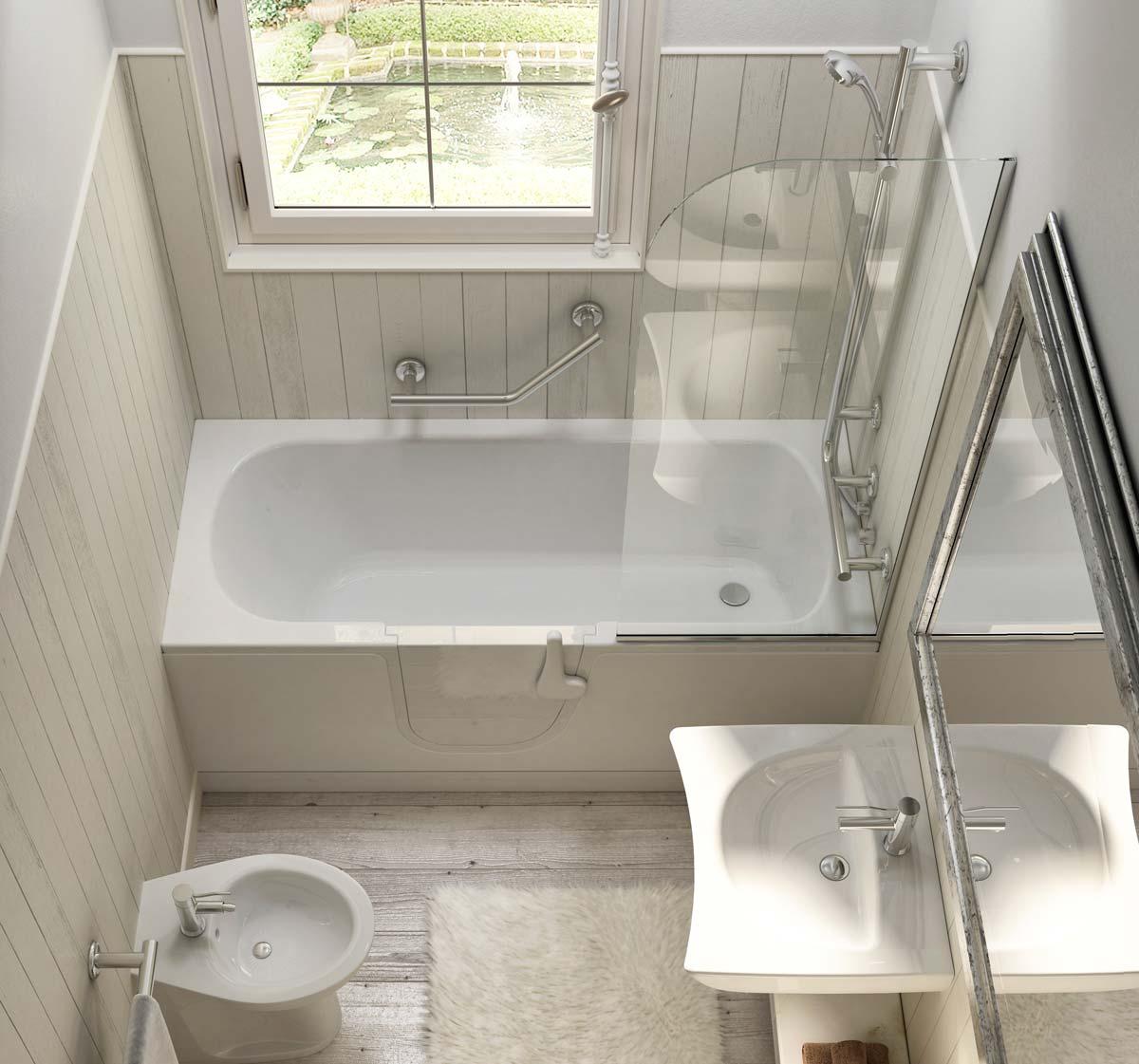 Phòng tắm cho người cao tuổi