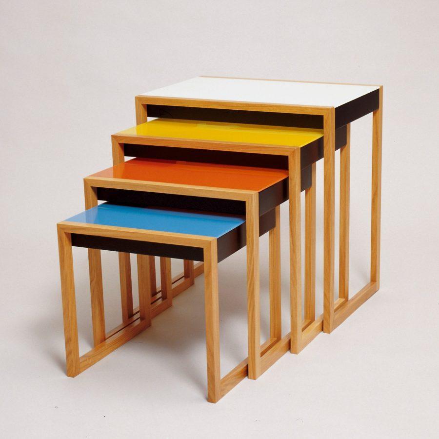 Bàn xếp (Nesting Tables) - Sản phẩm thiết kế tiêu biểu của phong cách Bauhaus