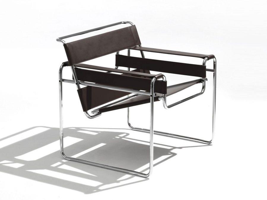 Ghế Wassily của Marcel Breuer - sản phẩm thiết kế tiêu biểu của phong cách Bauhaus